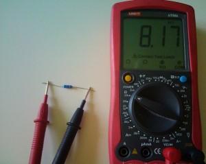 Как проверить резистор мультиметром.