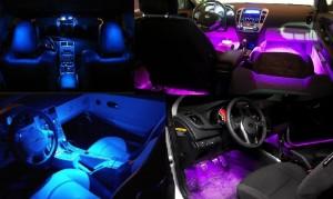 светодиодная подсветка в авто