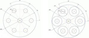 Размеры ротора
