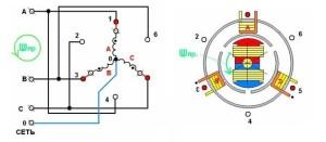 Схема 3-х фазного генератора