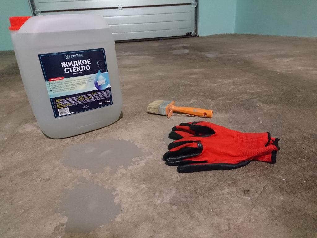 Инструменты для нанесения жидкого стекла