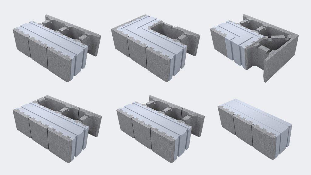 Виды блоков Lammi