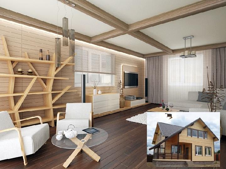 Внутренняя отделка финского дома